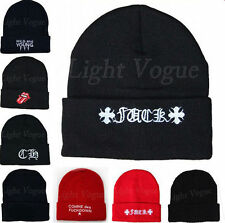 New Men Women Beanie Unisex Warm Winter Knit Fashion Hat Hip-hop Beanie Hats 48a