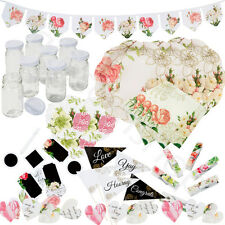 Talking Tables Vintage Floral Party Tableware Plates Napkins Bunting Decoration