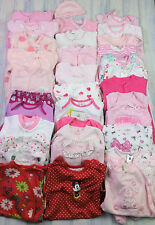 Baby Girls Various Babygrows Sleepsuits Hats Bodysuits 0-3 Mths VGC Comb Post