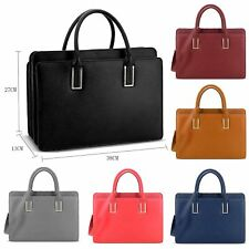 Genuine LYDC Faux Leather Briefcase Handbag Work Bag Shoulder Bag Laptop Satchel