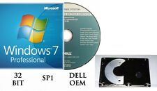 Microsoft Windows 7 Professional PRO 32/64 Full Version & Upgrade SP1 + HARDRIVE