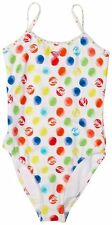 Roxy Girls Dotted One Piece Swimsuit RRP £40
