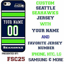 New Custom SEATTLE SEAHAWKS phone Case Cover for iPhone 6 6 PLUS 5 5s 5c 4 4s