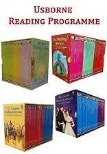The Usborne Reading Collection Gift Box Set Complete School Pack NEW
