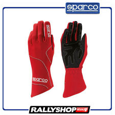 SALE Sparco Groove gloves Red Karting Racing Kart Race guantes Moto NEW 2017