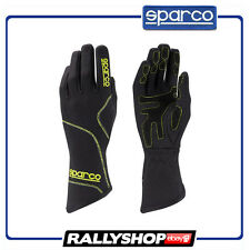 SALE Sparco Groove gloves Black Yellow Karting Racing Kart Race guantes 2017