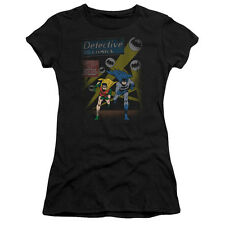 Batman Detective Comics DYNAMIC DUO Robin Licensed Ladies Cap Sleeve T-Shirt