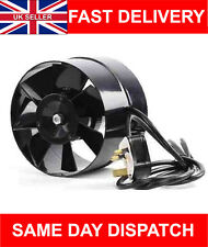 4 5 6 inch dia in Line Hydroponic Grow Room Air Input Grow Tent Fan UK DEALS