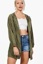 Boohoo Womens Tilly Oversized Pocket Festival Jacket