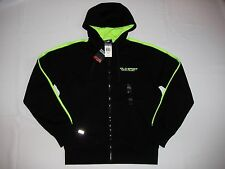 NWT POLO Sport Ralph Lauren Men's Fleece Full Zip Hoodie Jacket Sweatshirt Black