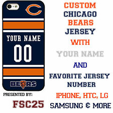 New Custom CHICAGO BEARS phone Case Cover for iPhone 6 6 PLUS 5 5s 5c 4 4s