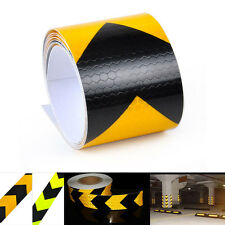 5*300cm Night Reflective Safety Warning Conspicuity Tape Strip Arrow Sticker Hot