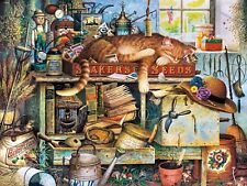 Buffalo Games Charles Wysocki Cats: Remington The Horticulturist Jigsaw Puzzle (