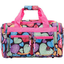 """Rockland Luggage Freestyle 19"""" Tote Bag 19 Colors Rolling Duffel NEW"""
