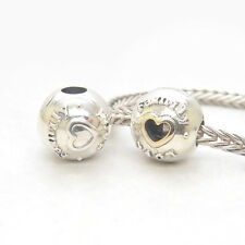 Authentic S925 Sterling Silver Family & Love CLIPS CHARM BEAD