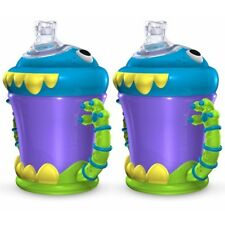Nuby iMonster No-Spill Cup - 210ml, 2 Pack. Delivery is Free