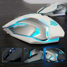 Wireless Mouse Optical Gaming Mice 2.4GHz with USB Receiver for Laptop PC