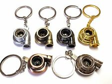exclusive Keychain Turbo Charger with movable Impeller key ring