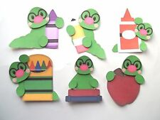 3D-U Pick - SG2 School Mice Monkey Worm Chick Puppy Card Scrapbook Embellishment
