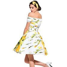 Spring Summer Style Floral Print Above Knee Mini Dress For Women