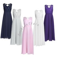 Flower Girls Bridesmaid Wedding Birthday Pageant Graduation Formal Party Dresses