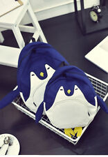 New Fashion Children's Backpack Girls' Cute Penguin Mode High Quality Schoolbag