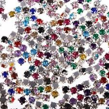 300 pcs Sew on Diamante Rhinestone Crystal Embellishment for Clothes/Shose/Bag