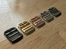 Premium Buckles for 20mm Perlon Watch Straps, Thick High Quality Buckles