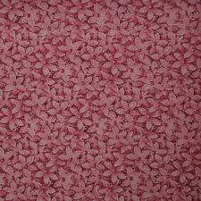 Quilt Fabric Cotton Calico Quilting Dark Pink Floral: 1/4 YD