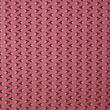 Quilt Fabric Quilting Cotton Calico Pink Tiny Buds w/ Striped Effect: FQ 17x21