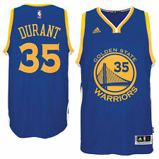 Golden State Warriors Kevin Durant Adidas Royal Authentic Swingman Jersey