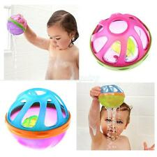 Kids Baby Toddler Bath Toys Bath Ball Toys Rattles Bells Baby Bath Time Toy