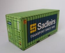 Sadliers Shipping Container for HO and N scale Railway Model Trains