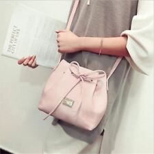 New Fashion Cross-body Style Casual Shoulder Solid Color Pu Leather Women Bag