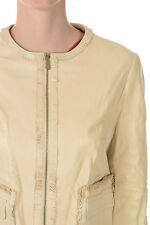 CHRISTIAN DIOR New woman Beige Jacket Leather Made in France NWT