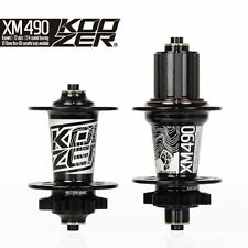 KOOZER HA02N  HA04N CNC Mountain Bike Hubs Set 2/4 Bearings MTB 32 Holes with QR