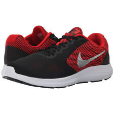 Nike REVOLUTION 3 Mens Red Black 600 Athletic Running Cross Training Shoes