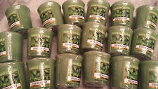 Yankee Candle VOTIVES BY THE CASE of 18 Samplers Votive Candles