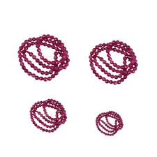 Fashion Pretty Faceted Ruby Jade Round Gemstone Loose Beads Strand 15 Inch