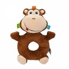 Baby Toys Bell Early Education Developmental Soft Stuffed Plush Toy Bed Rattles