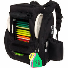 Fusion Pro 25 Disc Capacity Disc Golf Frisbee Backpack Bag w/ Built-In Seat