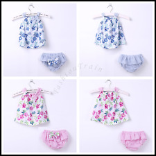 Baby Girls Sleeveless Skirt Pageant Birthday Party Beachwear Dress 3-18 Months