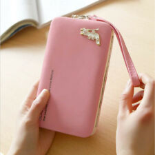 Fashion Women Lady Leather Wallet Purse Long Clutch Bag Phone Card Holder Stock