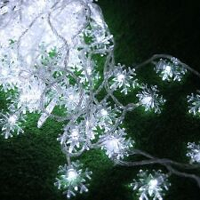10m 100led snow garland Led string Christmas lights wedding holiday XMAS Garden