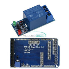 Touch TFT LCD Expansion Board Adjustable Shield Mega 2560 1-CH 5V Relay Module