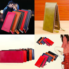 Fashion Leather Long Ladies Purse Coins   Women Wallets  Clutch Money Bag Hasp