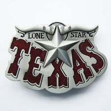 Men Belt Buckle Western Texas Star Belt Buckle Gurtelschnalle Boucle de ceinture