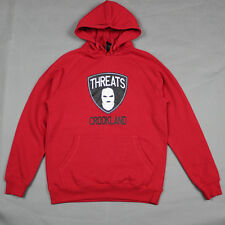 Crooks & Castles The Threats Hoodie in True Red NWT CROOKS Free Shipping