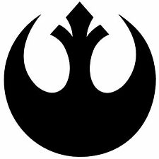 Star Wars Inspired Rebel Alliance Sticker Vinyl Decal For Car Window Wall