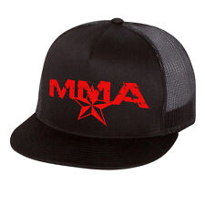 MMA Star Fight Gear Baseball Cap Trucker Hat Head Wear UFC W Free Tapout Sticker